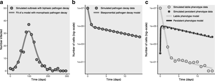 Phenotypic variations in persistence and infectivity between
