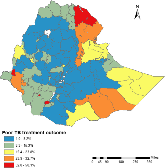 Mapping tuberculosis treatment outcomes in Ethiopia | BMC