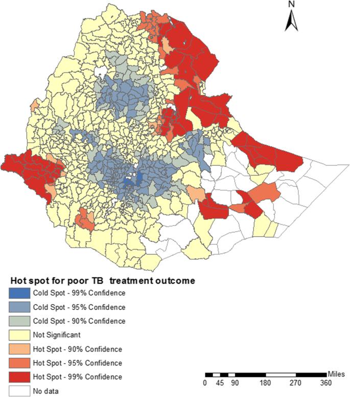 Mapping tuberculosis treatment outcomes in Ethiopia | BMC