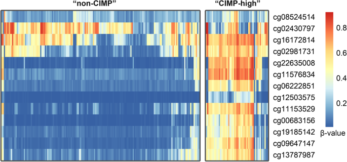 The CIMP-high phenotype is associated with energy metabolism