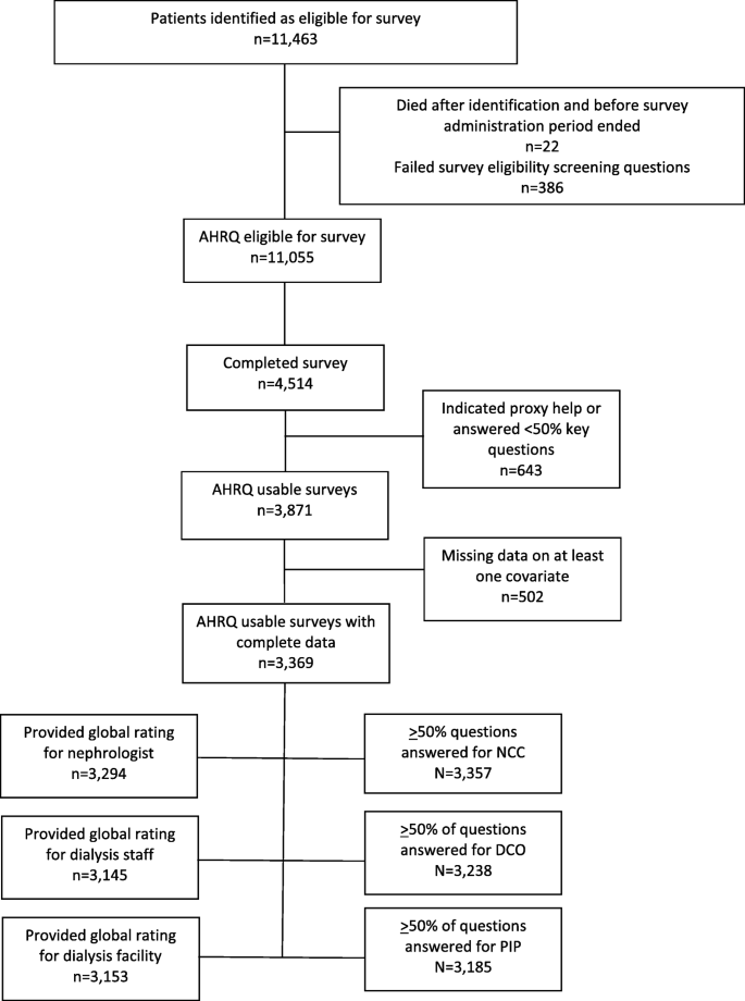 Hemodialysis patient characteristics associated with better