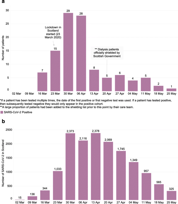 Covid 19 In Patients Undergoing Chronic Kidney Replacement Therapy And Kidney Transplant Recipients In Scotland Findings And Experience From The Scottish Renal Registry Bmc Nephrology Full Text