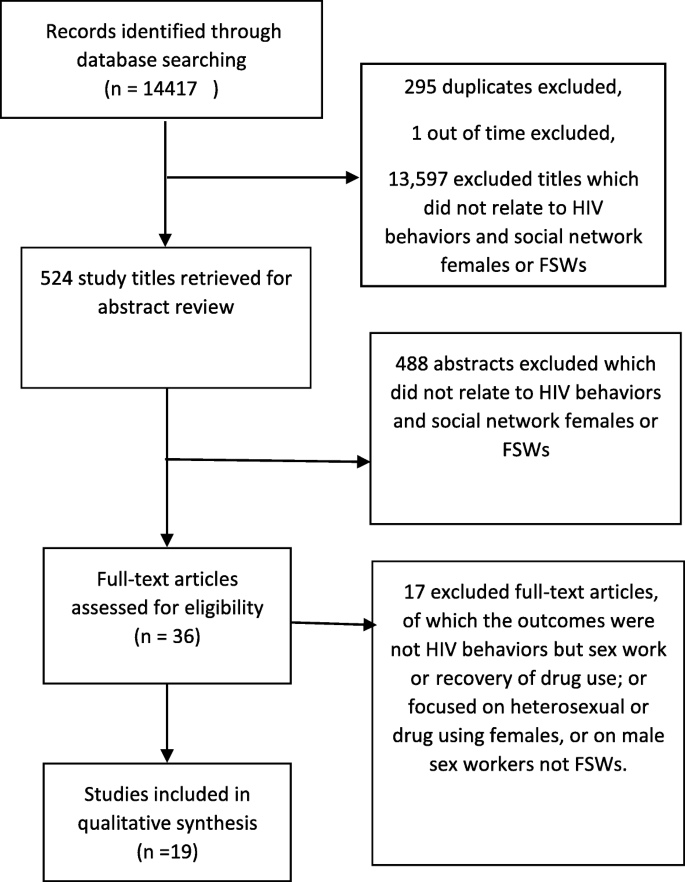 Social network and HIV risk behaviors in female sex workers: a