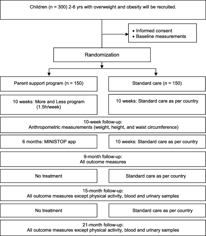 A randomized controlled trial for overweight and obesity in