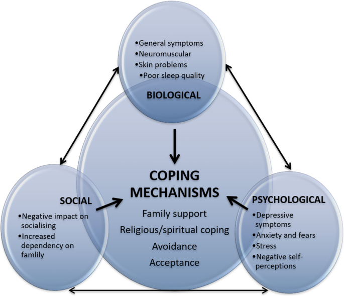Biopsychosocial experiences and coping strategies of elderly