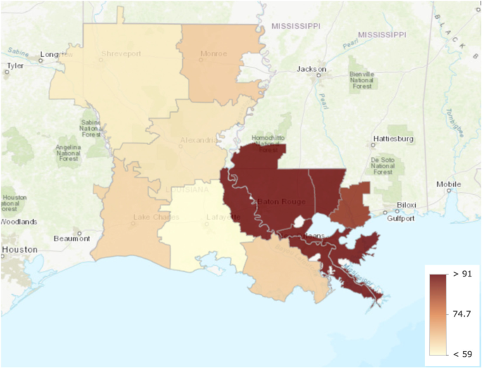 Healthcare spending in the State of Louisiana | BMC Health