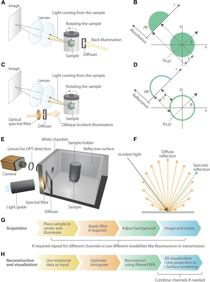A Label-free Multicolor Optical Surface Tomography (ALMOST