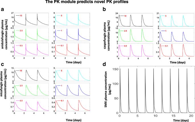 A quantitative systems pharmacology (QSP) model for Pneumocystis