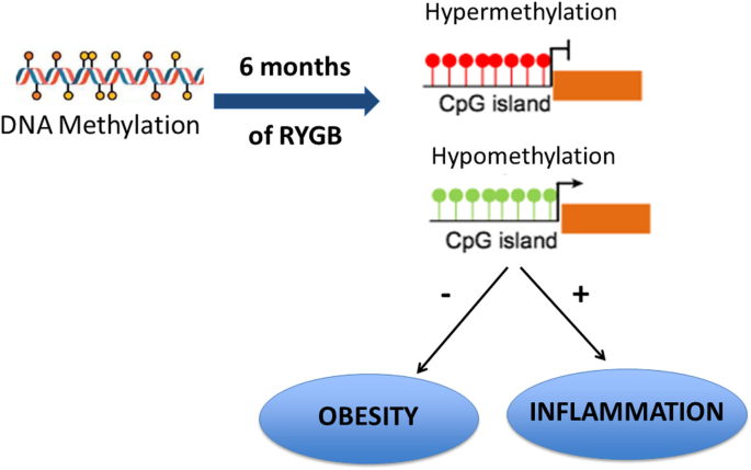 DNA methylation screening after roux-en Y gastric bypass