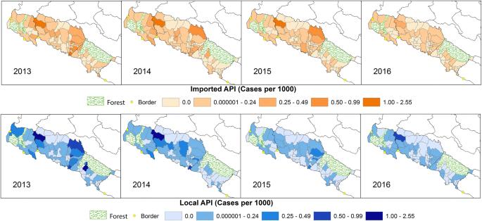 Designing malaria surveillance strategies for mobile and migrant
