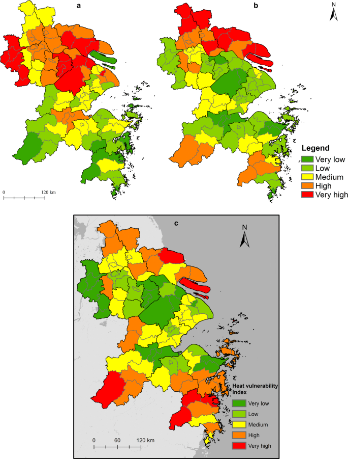 Spatially explicit assessment of heat health risk by using multi