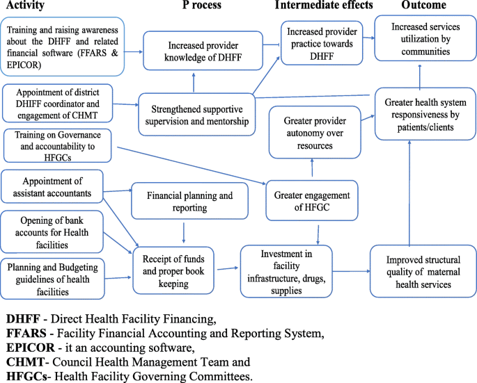 Understanding the implementation of Direct Health Facility Financing