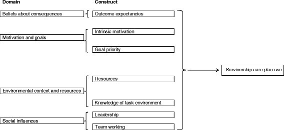 Potential determinants of health-care professionals' use of