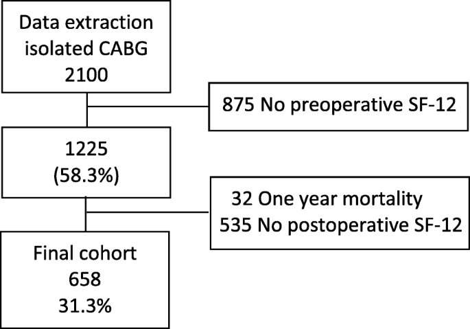Preoperative determinants of quality of life a year after
