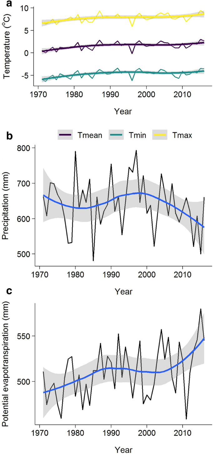 Dramatic Increase In Water Use Efficiency With Cumulative Forest Disturbance At The Large Forested Watershed Scale Carbon Balance And Management Full Text