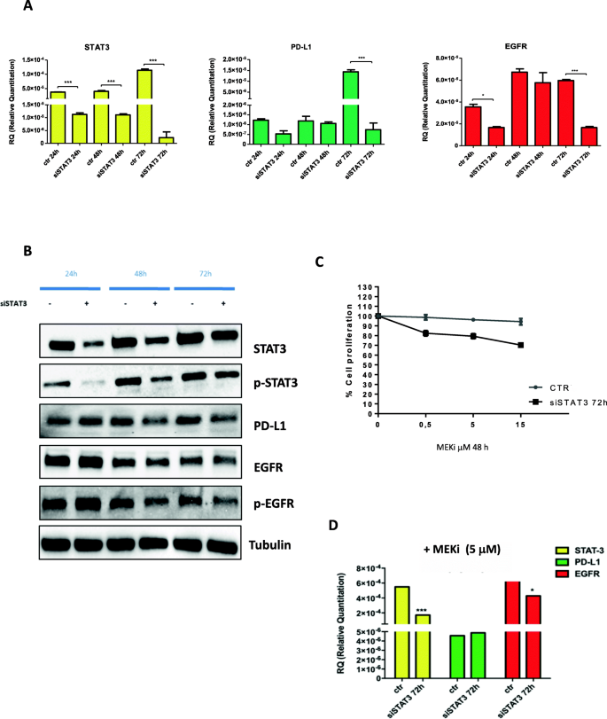 Triple Blockade Of Egfr Mek And Pd L1 Has Antitumor Activity In Colorectal Cancer Models With Constitutive Activation Of Mapk Signaling And Pd L1 Overexpression Journal Of Experimental Clinical Cancer Research