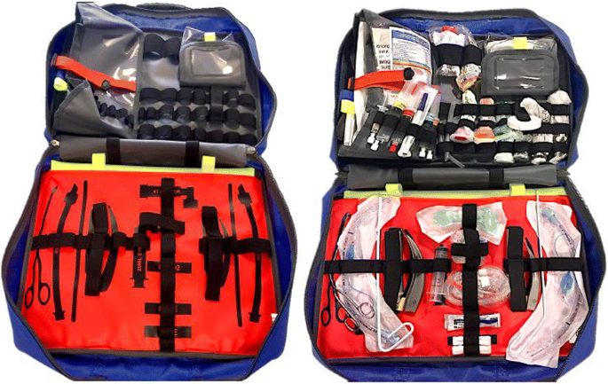 Impact of drug and equipment preparation on pre-hospital