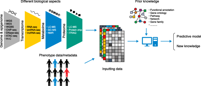 Machine learning and complex biological data   Genome