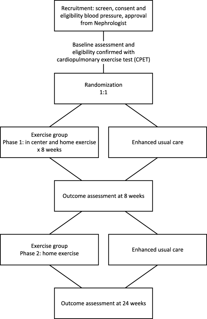 Physical Activity In Renal Disease (PAIRED) and the effect on