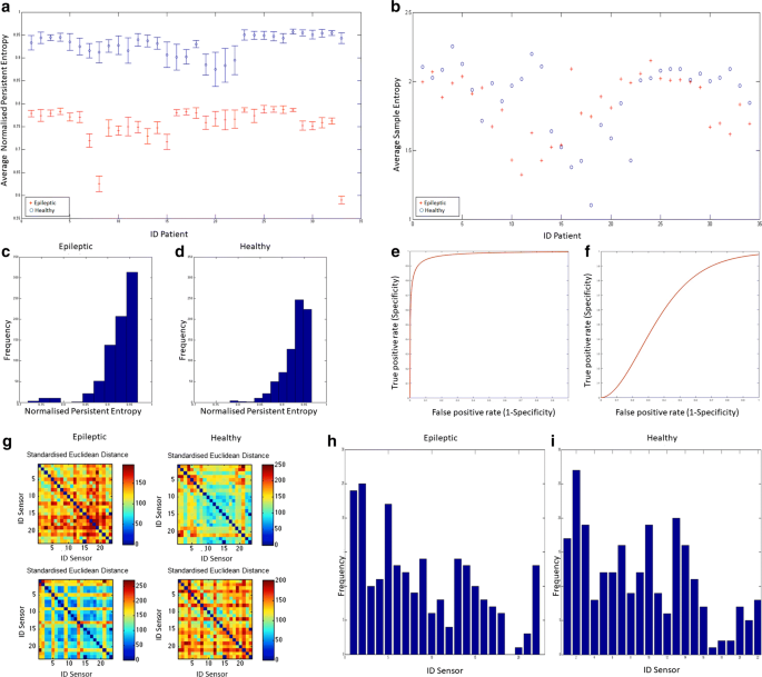 Topological classifier for detecting the emergence of epileptic