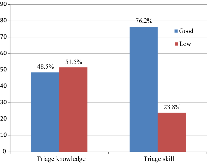 Triage knowledge and skills among nurses in emergency units