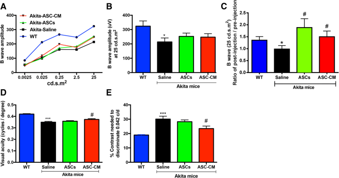Adipose stem cells and their paracrine factors are therapeutic for