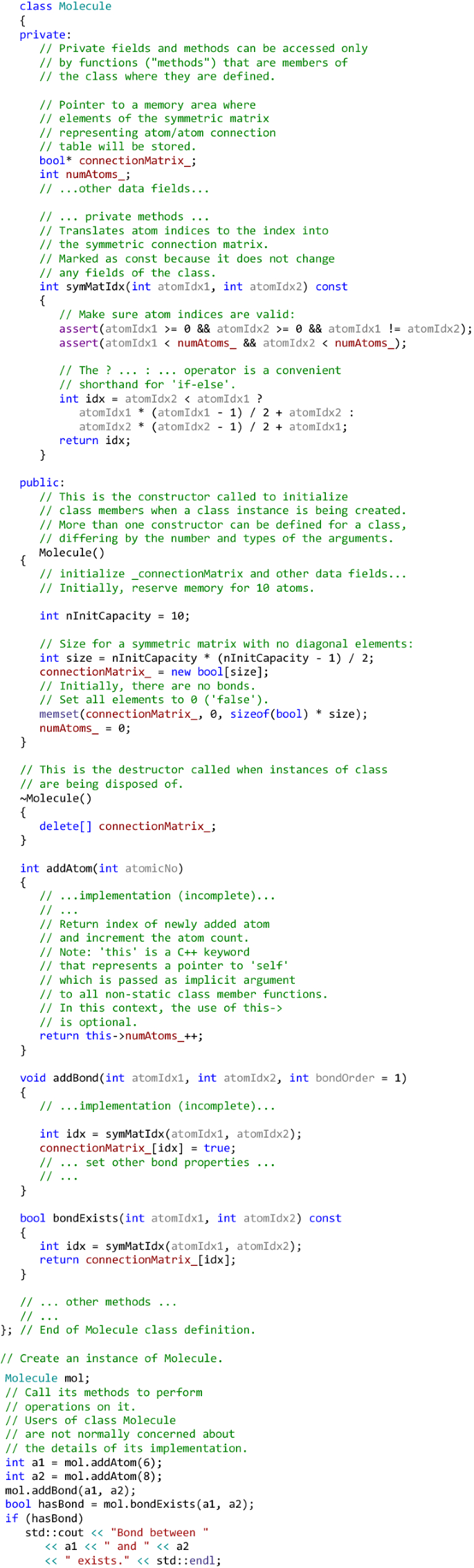 The C Programming Language In Cheminformatics And Computational Chemistry Springerlink