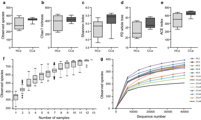 Altered diversity and composition of the gut microbiome in