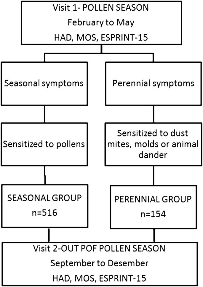 Severity of allergic rhinitis impacts sleep and anxiety