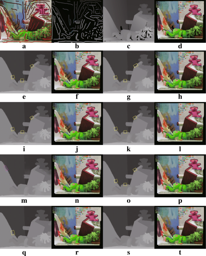 Robust semi-automatic 2D-to-3D image conversion via residual