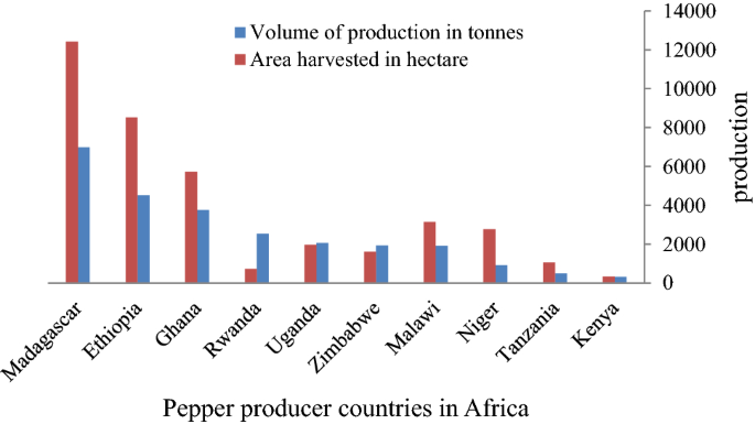 Technical efficiency of smallholder farmers in red pepper