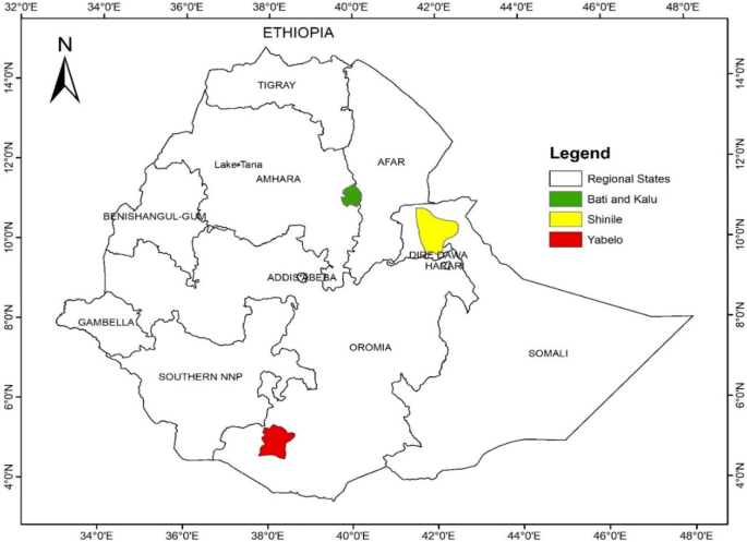 Early growth trend and performance of three Ethiopian goat