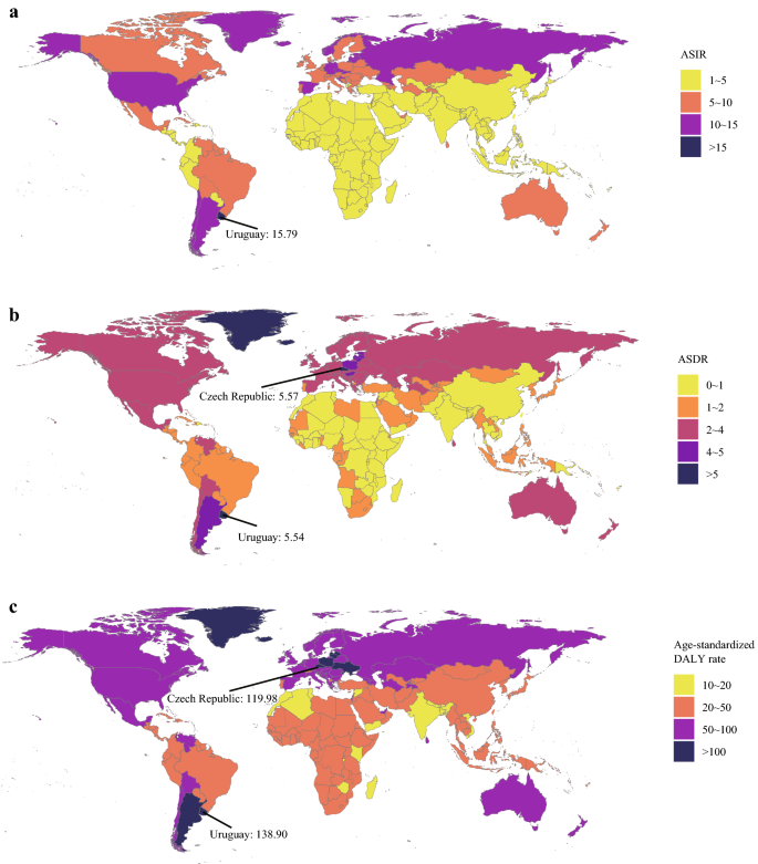 The Global Regional And National Burden Of Kidney Cancer And Attributable Risk Factor Analysis From 1990 To 2017 Experimental Hematology Oncology Full Text