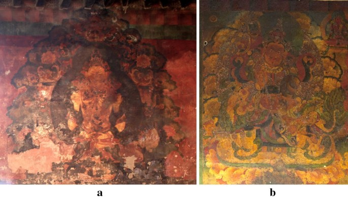 Studies On Wall Painting Materials And Techniques At Two Historic