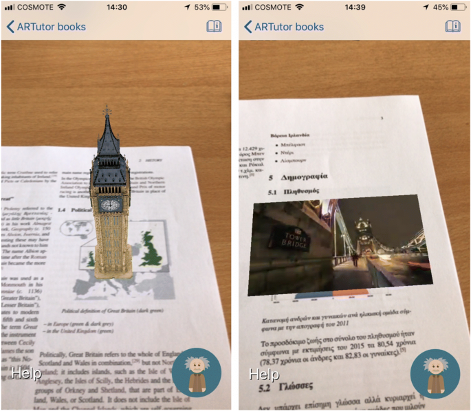 Evaluation Of The Artutor Augmented Reality Educational Platform In Tertiary Education Springerlink