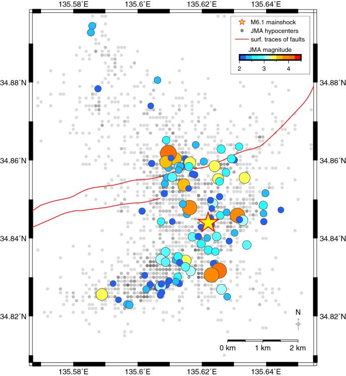 Seismotectonics of the 2018 northern Osaka M6 1 earthquake
