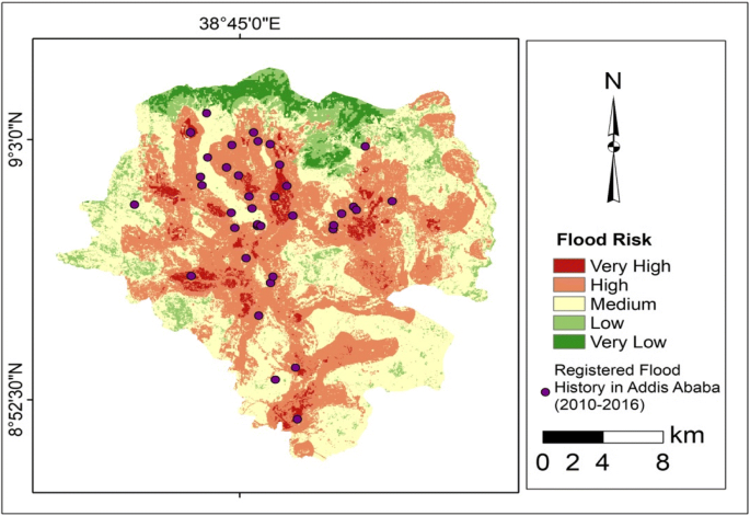 GIS based quantification and mapping of climate change vulnerability