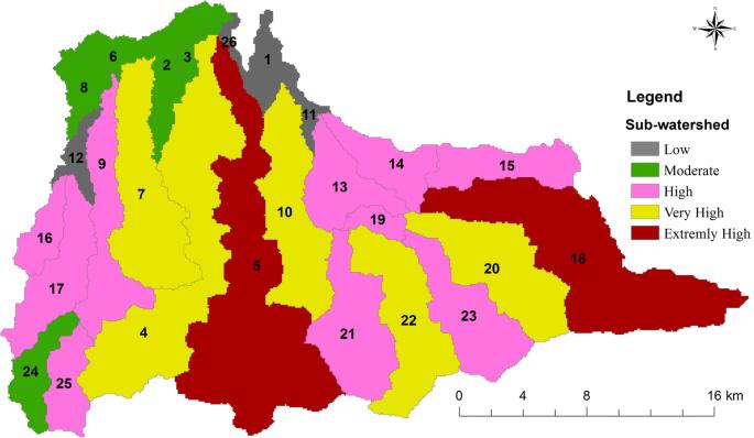 Flood risk analysis: causes and landscape based mitigation