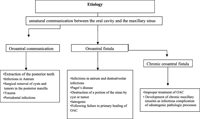 Decision-making in closure of oroantral communication and fistula