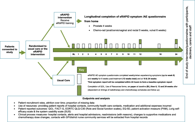 eRAPID electronic patient self-Reporting of Adverse-events ...