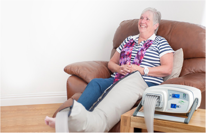 Home management of lower limb lymphoedema with an intermittent ...