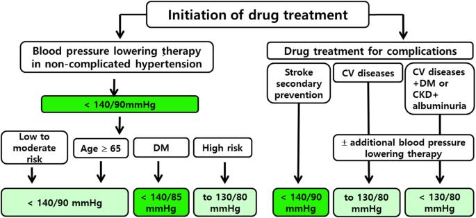 hypertension treatment guidelines elderly napi étrend magas vérnyomás esetén