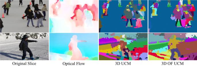 Supervoxel-based segmentation of 3D imagery with optical