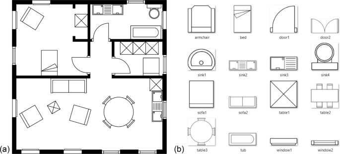 Symbol Spotting For Architectural Drawings State Of The Art And New Industry Driven Developments Ipsj Transactions On Computer Vision And Applications Full Text