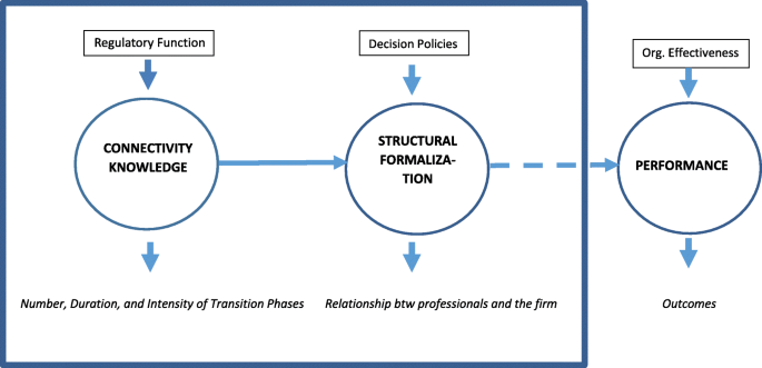Connectivity Knowledge And The Degree Of Structural Formalization A Contribution To A Contingency Theory Of Organizational Capability Journal Of Organization Design Full Text