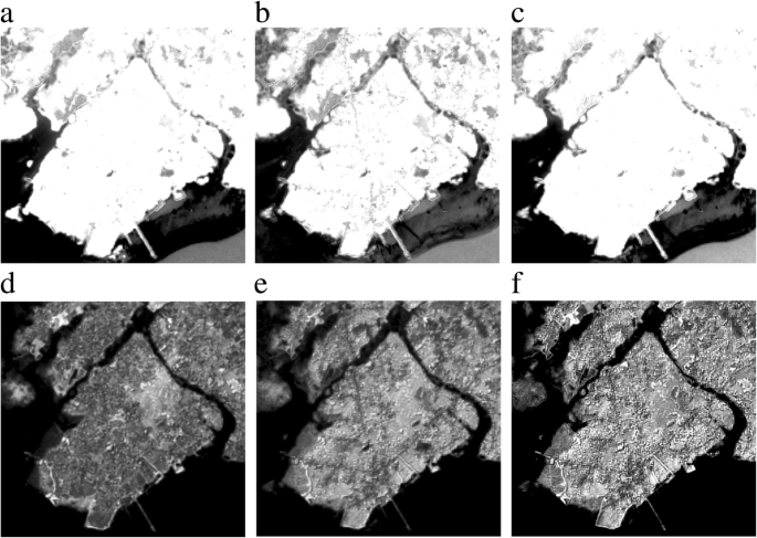Near infrared band of Landsat 8 as water index: a case study