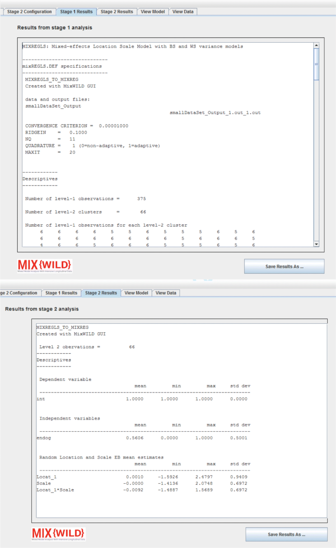 MixWILD: A program for examining the effects of variance and slope ...