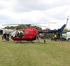 Air ambulance image credit Bob Embleton