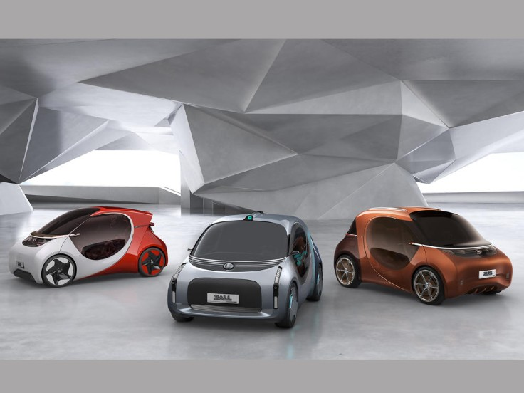 Basf And Gac Unveil Three Electric Car Concepts In China