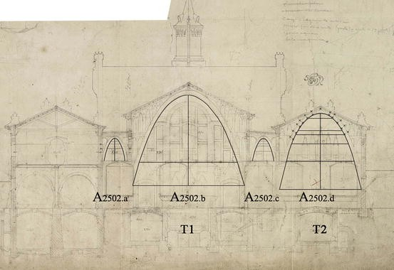 Layout of Catenary Arches in the Spanish Enlightenment and